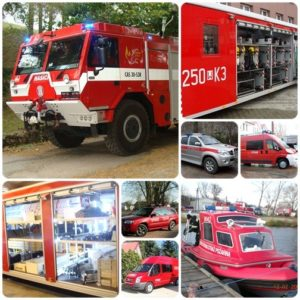 Pojazdy ratowniczo - gaśnicze Straży Pożarnej