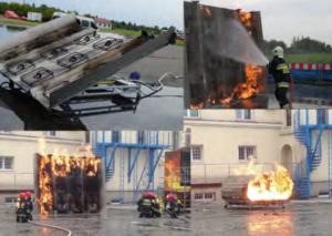 Trenażery - gaszenie pożarów i prądów gaśniczych