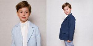 Odzież lniana dla chłopców