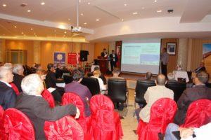 TELEMOST - مؤتمر عبر الفيديو KIELCE - الجزائر خلال المعرض الرابع لتقنية البستنة والخضروات HORTI-TECH 13-14 فبراير 2019.